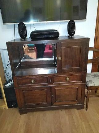 aparador antiguo, mueble bar