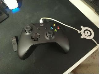 Mando Xbox one para PC + adaptador