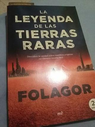 La leyenda de las tierras raras (libro de folagor)