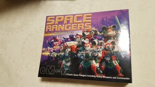 5 MINIATURAS DE SPACE RANGERS DE 28 MM