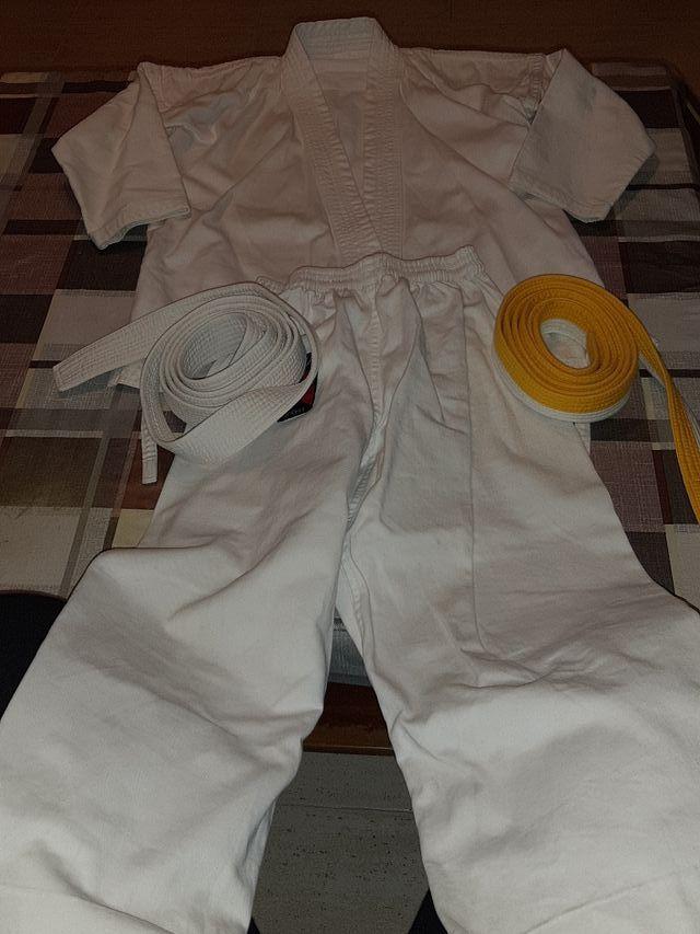 Traje karate niños talla 5-8 años