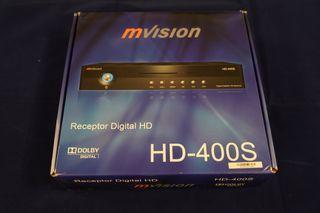 Receptor Satélite Mvision HD