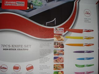 Cuchillo 7 piezas + pelapatata
