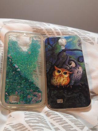 Dos fundas Samsung Galaxy S4