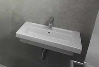 lavabo Roca modelo Prisma