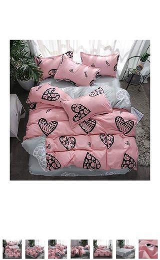 Nuevo! 4 piezas de cama, con funda edredón/nordico