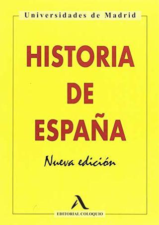 LIBRO HISTORIA DE ESPAÑA, BACHILLERATO