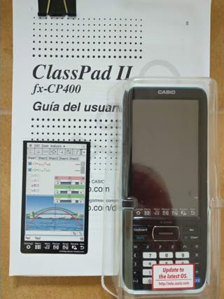 Calculadora Casio fx-CP400 ClassPad II