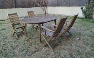Muebles Jardín de Teka