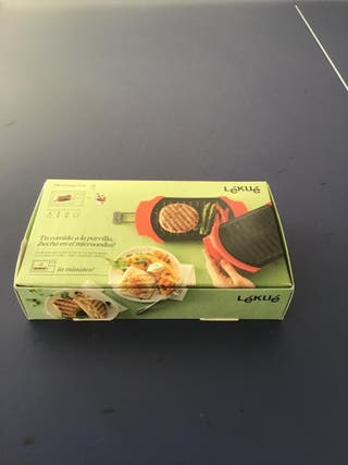 Mini plancha para microondas
