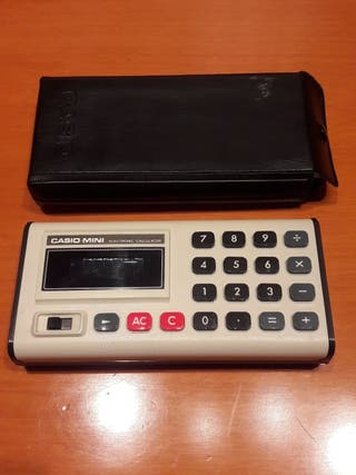 calculadora vintage Casio