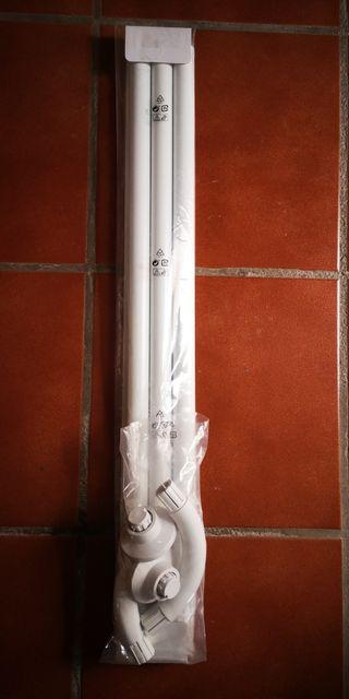 barra de cortinas de ducha