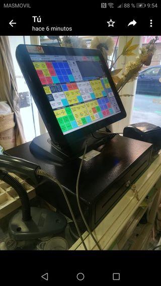 Tpv táctil caja registradora impresora ticket y l