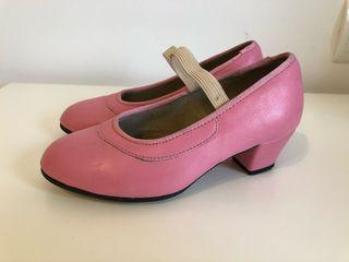 Zapatos tacón niña N27