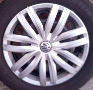 Llantas acero+neumáticos+tapacubos