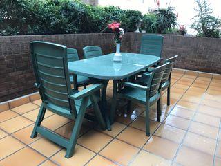 Mesa Para Jardín De Segunda Mano En Barcelona En Wallapop
