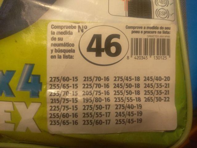 cadenas 4x4
