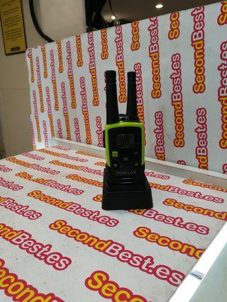 talkie walkie o Channel 510 verde y negro