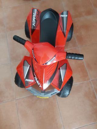 moto quad electrica (niños)