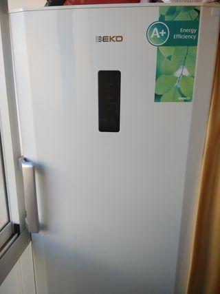 Arcón congelador vertical Beko