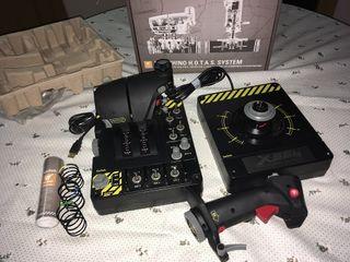 Joystick Saitek X-55 RINHO HOTAS System IMPECABLE