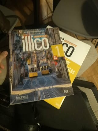 libro francés Illico A1