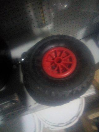 rueda carretilla hinchable
