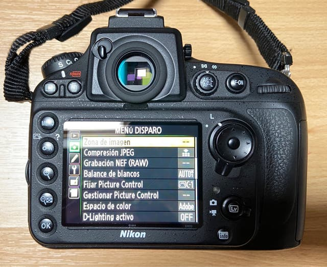 Nikon D800 Cámara FF como nueva, muy cuidada.