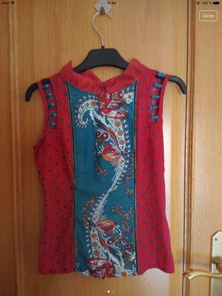Camiseta vintage estilo kimono