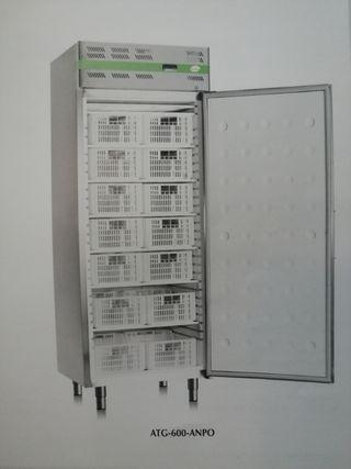 Armario inox industrial refrigerador y congelador