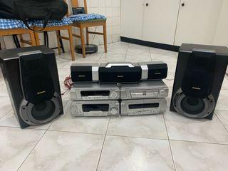 Equipo de musica Panasoic Technics