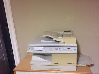Fotocopiadora impresora olivetti