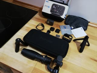 Cámara GoPro Hero Black 5 + Estabilizador hohem
