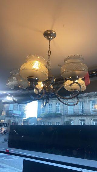 Lámpara vintage funcionado