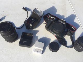 Canon 550D + Extras