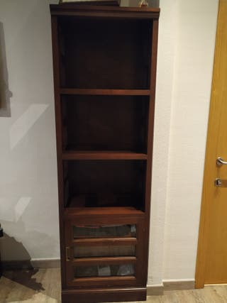 Librería madera maciza