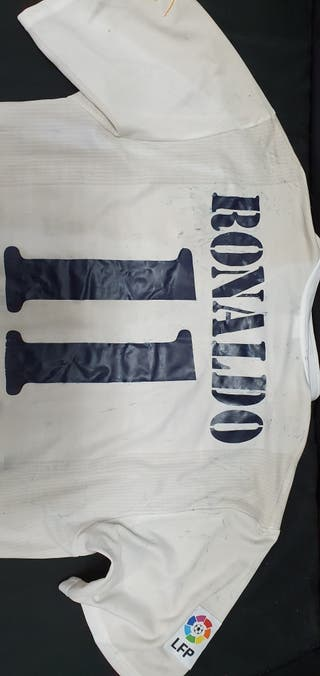Camiseta Ronaldo en Madrid