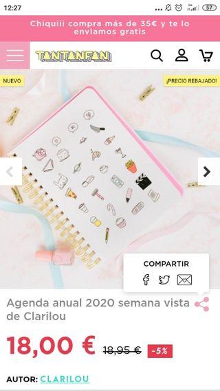 AGENDA 2020 CLARILOU