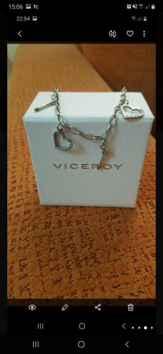 pulsera de plata viceroy chica