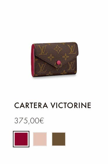 Cartera Victorine original Louis Vuitton