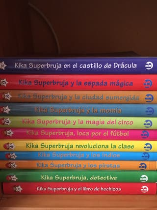 Libros infantiles Kika Superbruja