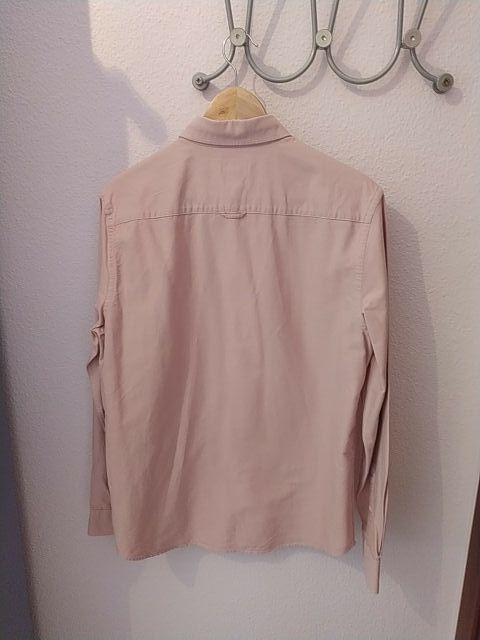 Camisa vaquera color rosa palo H&M