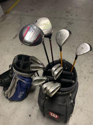 Juego completo golf, para iniciacion
