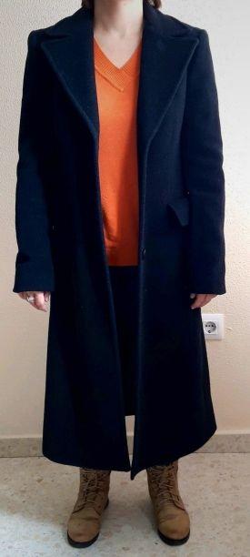 Abrigo largo Zara Woman