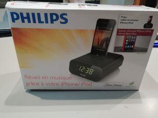 Radio-despertador para Iphone