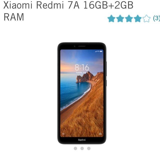 XIAOMI REDMI 7A 16GB A ESTRENAR