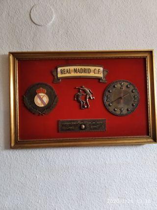 cuadro vintage real Madrid