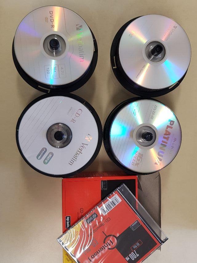 CDS, DVDS Y FUNDAS