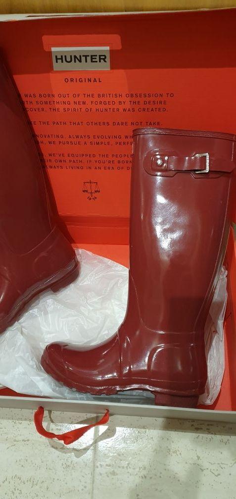 botas Hunter +calcetines