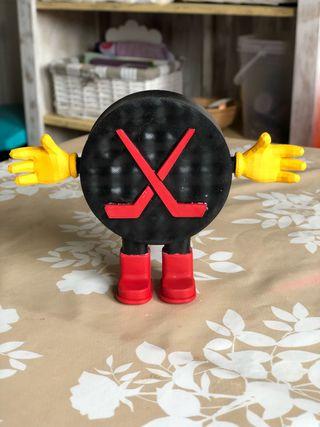 Disco hockey 3D Toy Story